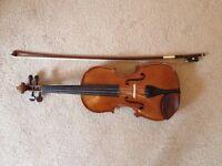 Stentor 1 3/4 size violin for sale.
