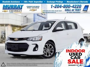 2017 Chevrolet Sonic LT Auto *OnStar, Rear View Camera, Remote S