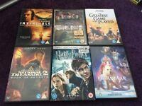 Disney,mixed dvds.50p each