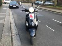 PIAGGIO VESPA LX 125cc Black 55 plate low mileage hpi clear!!!