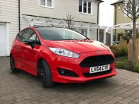 2014 FORD FIESTA 1.0 ECOBOOST ZETEC S 140BHP RED EDITION - FULL FORD HISTORY - 1YR MOT
