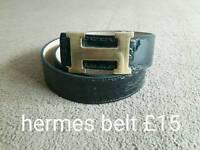 Gucci hermes belts