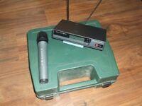 Sennheiser EW100 Radio Microphone and EW100 Diversity Receiver