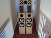 eltax symphony surround speakers.