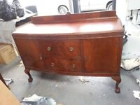 Antique Sideboard with Drawer / Cupboard Storage