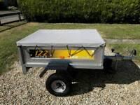 Erde 122 tipping trailer. V.G.C