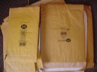Jiffy padded envelopes various sizes x 17