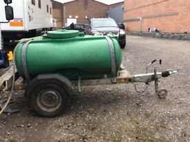1000 Litre / 250 Gal. Road Tow Waste Water Bowser In Good Condition