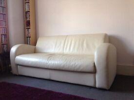 Designer Sofa Bed Genuine Leather