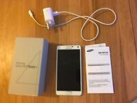 Samsung galaxy note 4 unlocked White 32Gb