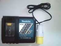 new makita 110v dc18rc for all LXT 7.2-18v batteries. fastest makita jobsite charger