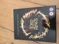 Lord of the Rings blu ray trilogy