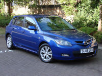FINANACE AVILABLE!! 2008 MAZDA 3 1.6 TAMURA SPECIAL EDITION 5dr, 1 YEAR MOT, AA WARRANTY