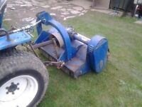Flail mower/topper