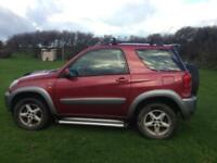 Toyota Rav 4 NRG 2001 REDUCED FOR QUICK SALE spares or repair