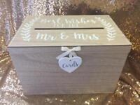 Wedding cards box