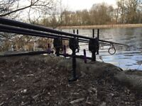 Full carp fishing setup fox/Nash/shimano/plus more