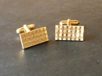 Cufflinks (gold coloured)