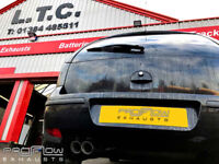 Vauxhall Corsa Proflow Exhausts Stainless Steel Back Box Delete