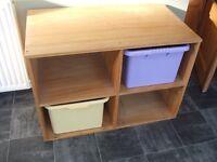 Pine Storage Cabinet / Book Case / Cube Unit Collection Essex SS6