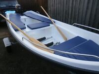 Dinghie, Row Boat, Outboard MotorBoat
