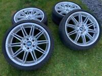 BMW MV4 19in Alloy Wheels & Tyres