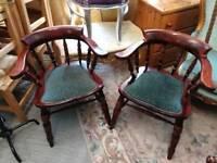 3x Captain's Chair's