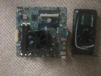 Mobo + CPU + RAM + GPU bundle