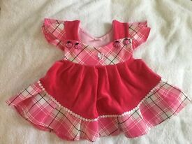 Beautiful baby girl dress 3-6 months(80cm)