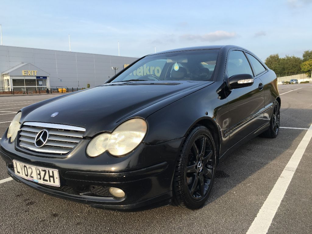 Mercedes C220CDI Sport Coupe w203 2002 - 60mpg !