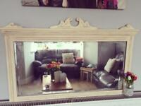 Antique upcycled mirror