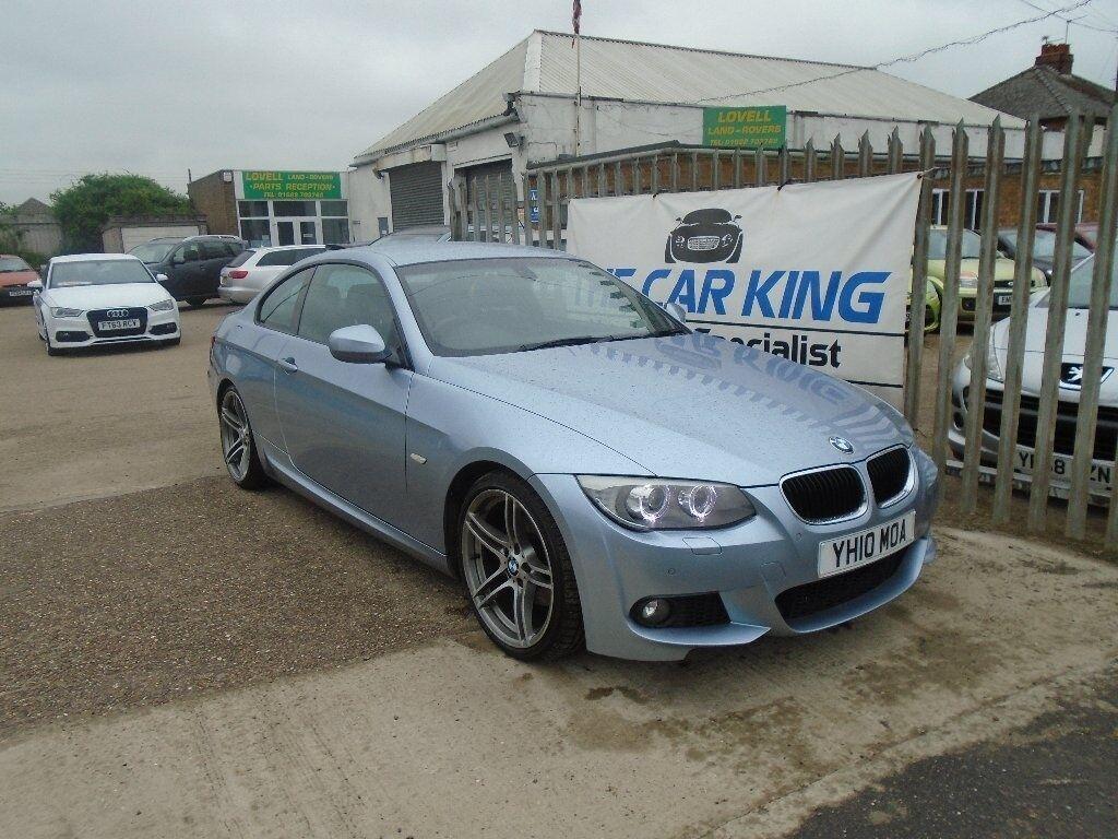 BMW SERIES D M Sport Dr Blue In Saxilby - Blue bmw 3 series