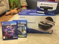 PlayStation VR, Camera & Two Games