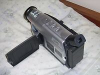 JVC camcorder with 4 films