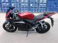Yamaha yzf r125 14 plate