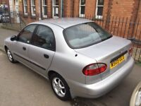 Automatic Daewoo Lanos 1.6cc—11 months mot,excellent runner,ac,cd,alloys,economical,central lock.vgc