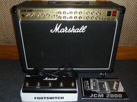 Marshall TSL122 JCM2000 Triple Super Lead 100 watt 2 x 12 valve combo