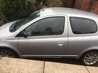 QUICK SALE!! 03 Toyota Yaris, Silver Colour Collection Model, £400!!.