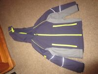 Marks and Spenser Navy padded winter coat age 6 - 8 years old