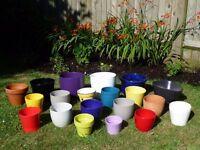 Selection of Plant Pots - Ceramic & Plastic IKEA Sheurich