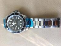 Men's submarine stainless steel watch brand new