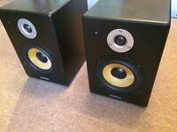 Citronic ST6 MkII Active Studio Monitors (pair - spares/repairs)