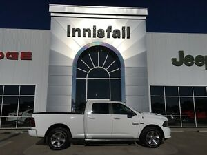 2014 Ram 1500 Sport Crew Cab 6.4 Box Leather Loaded