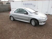 PEUGEOT 206 COUPE CABRIOLET SE FULL LEATHER 2004