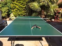 Butterfly Home Rollaway Outdoor Table Tennis Table