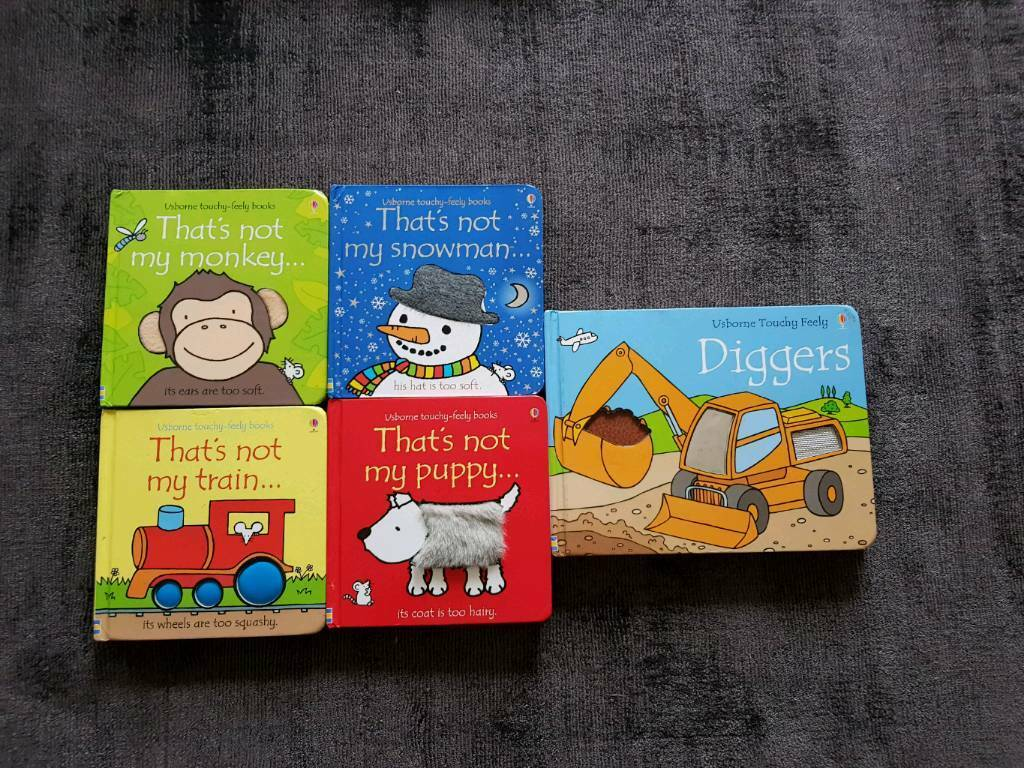 That's not my.. baby kids books bundle