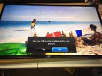 "Samsung 40"" LED Tv freeview scart hdmi cheap bargain"