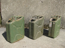 Jerry Cans.