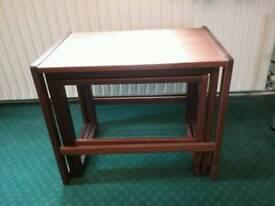 Set of GPlan danish style nesting tables