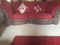 Snuggle sofa and chairs